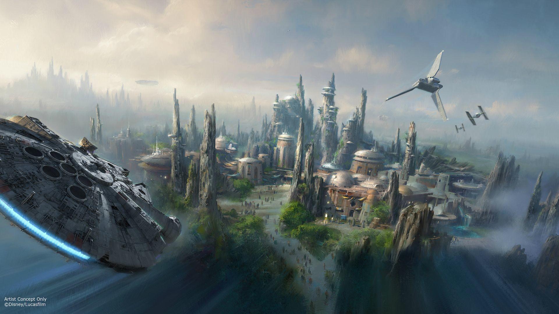 Disney's Star Wars Theme Park Concept Art