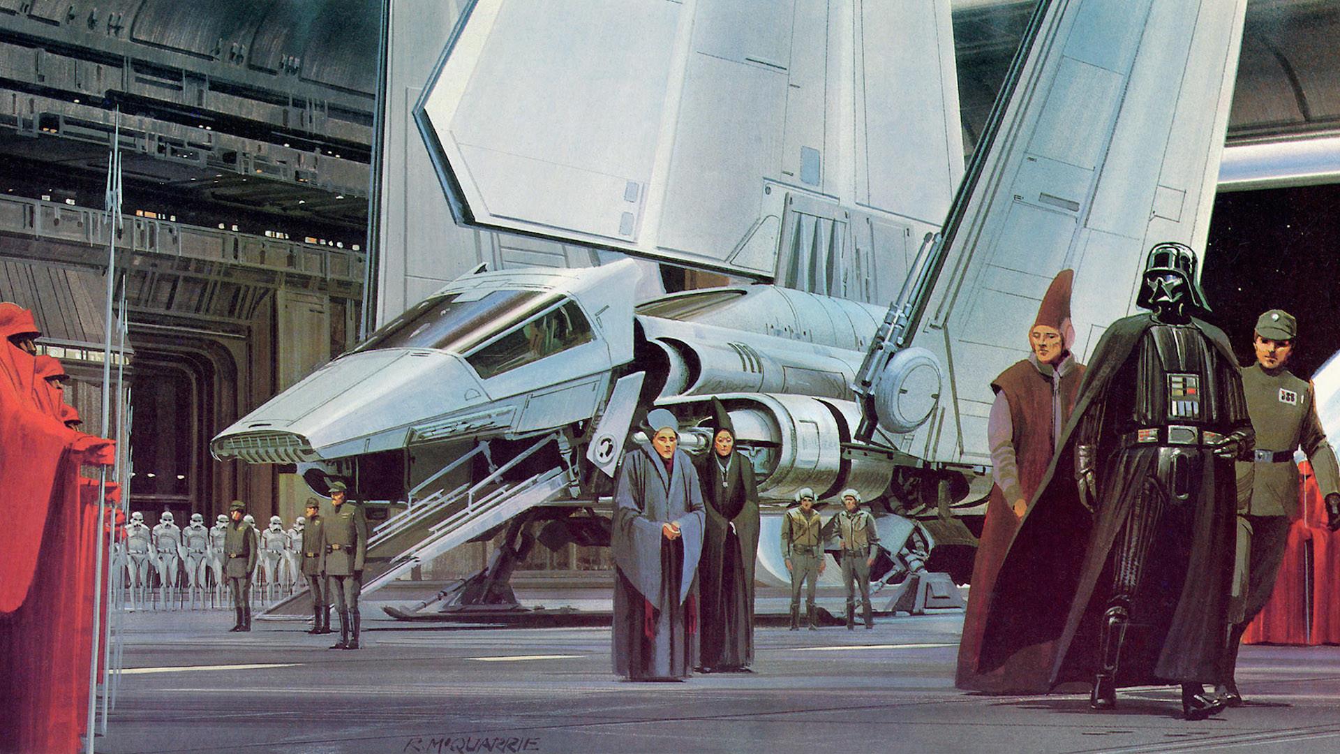 Star Wars Ralph McQuarrie Concept Art Part 1