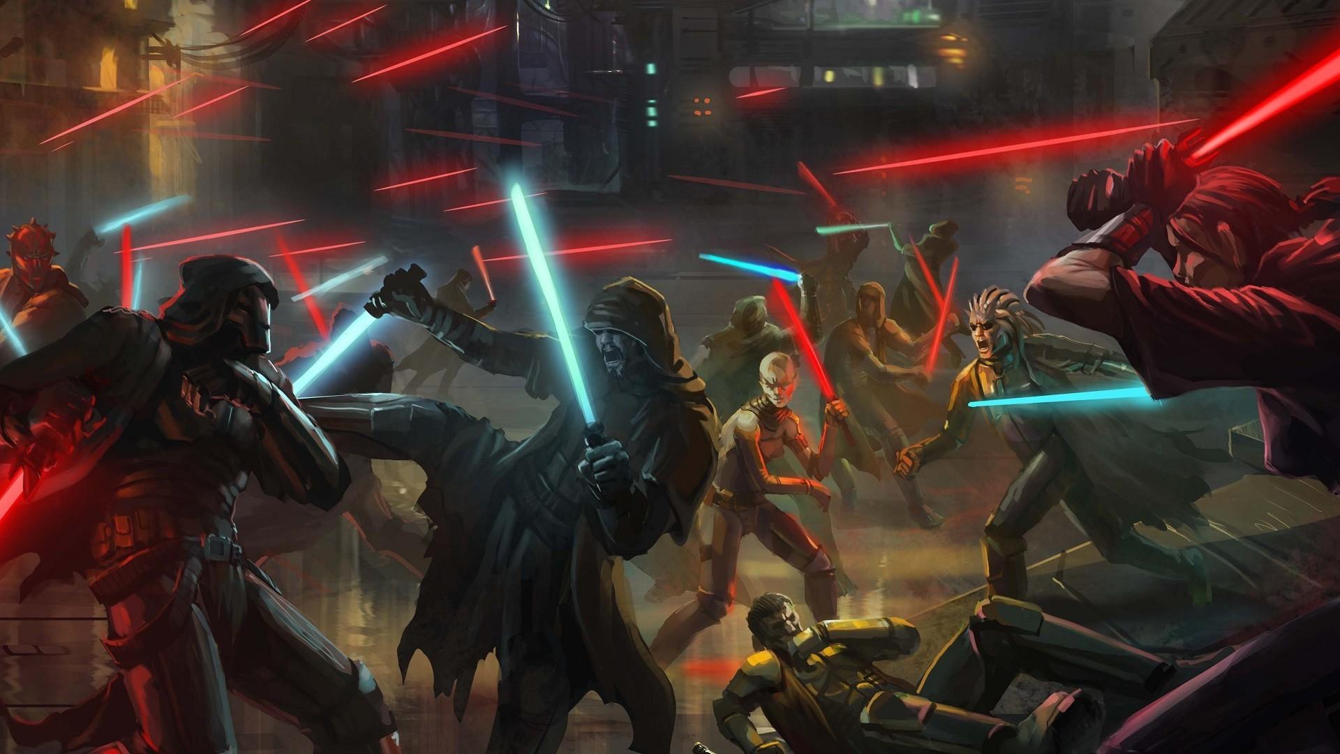 Star Wars, Lightsaber, Concept Art, Science Fiction Wallpapers HD / Desktop  and Mobile Backgrounds