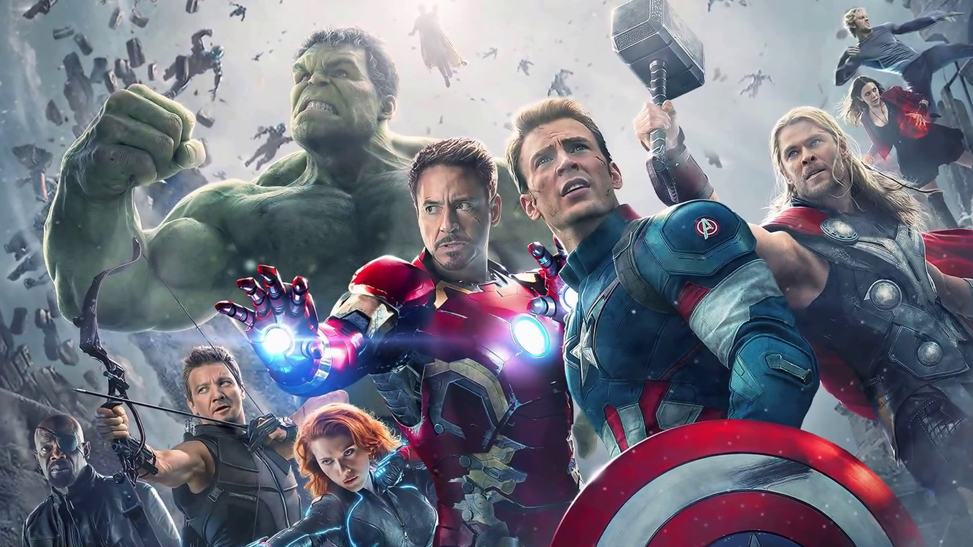 … Avengers: Age of Ultron Wallpaper by sachso74