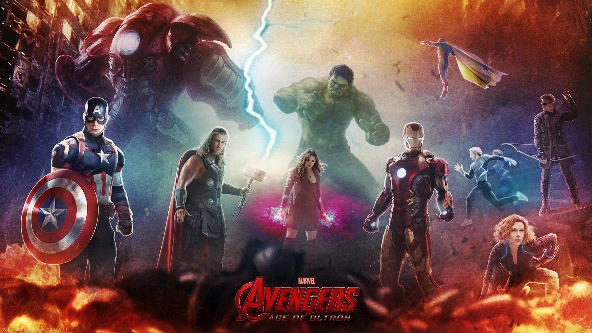 Free Wallpapers – Avengers: Age of Ultron wallpaper