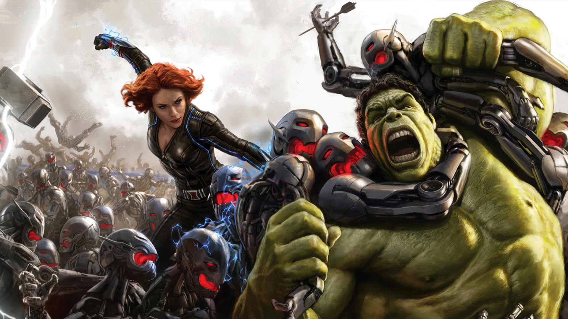 Avengers: Age of Ultron Concept Art Close-up wallpaper