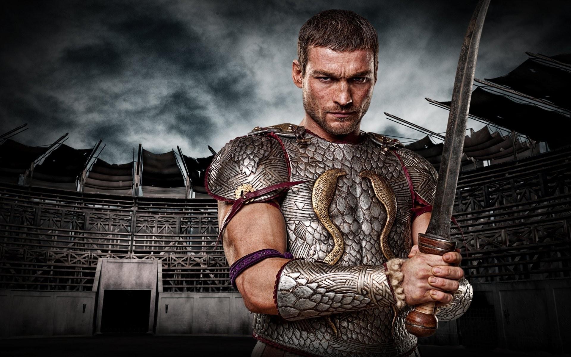 spartacus series spartacus sand and blood gladiator warrior sword