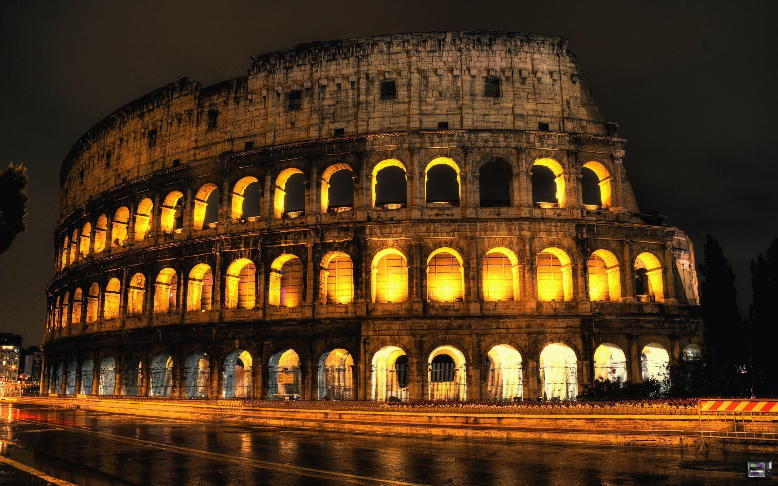 Colosseum gladiator rome stadium HD Wallpaper