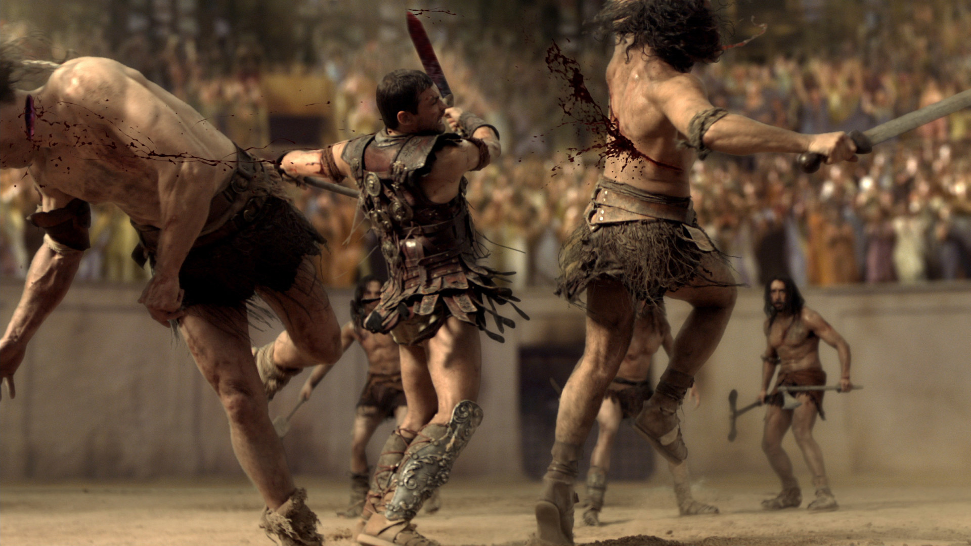 Spartacus Full HD Wallpaper