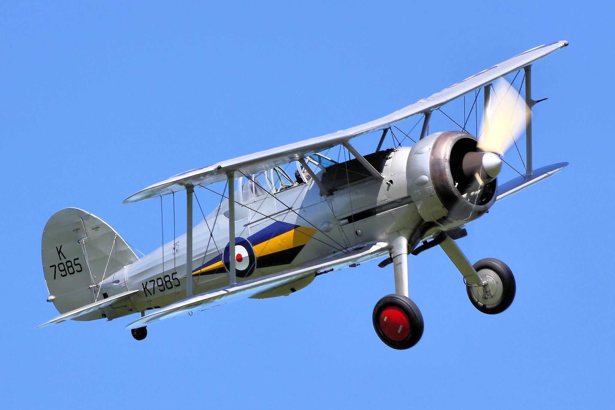 HD Wallpaper | Background ID:652988. Military Gloster Gladiator