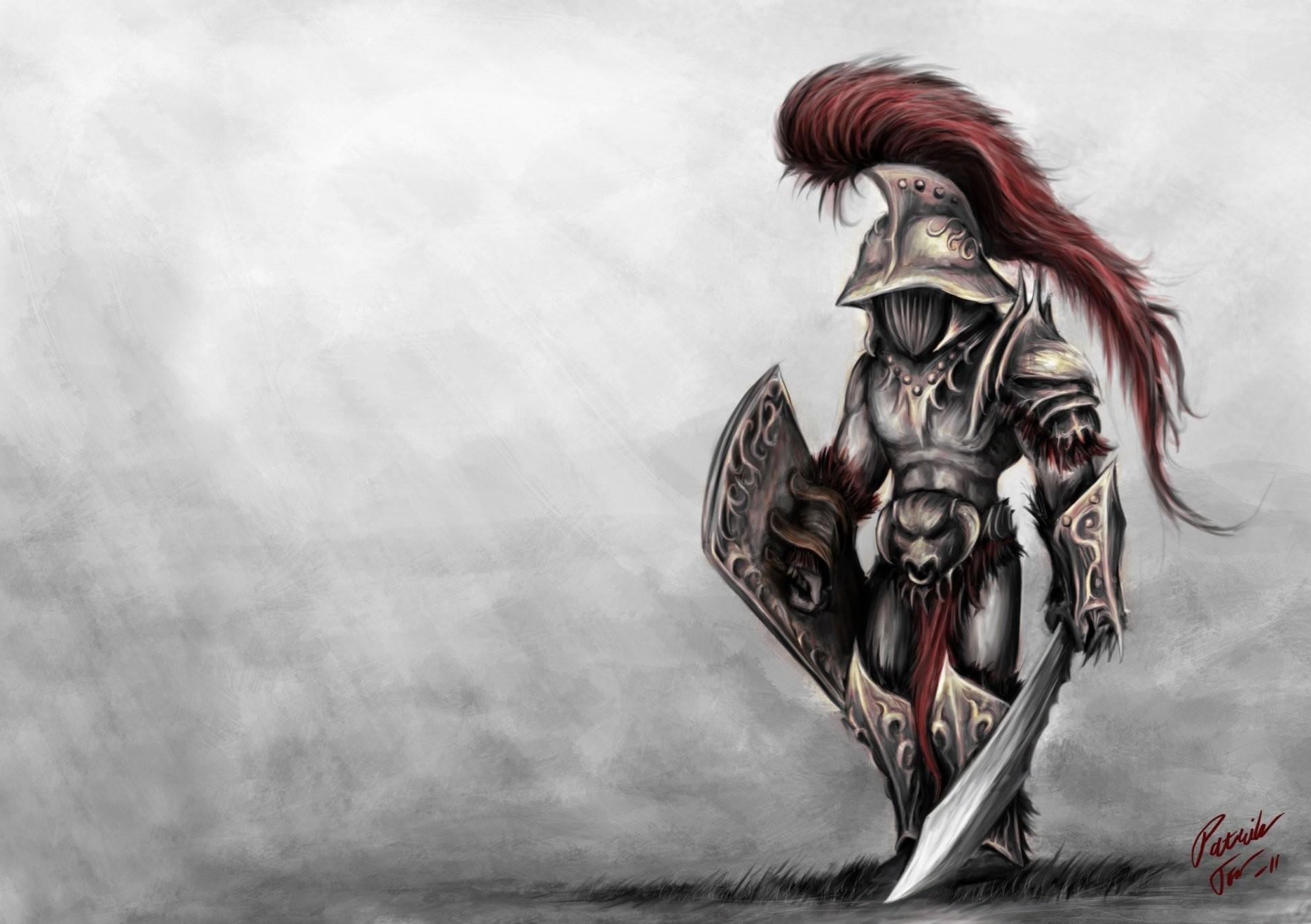 murmillo gladiator warrior background