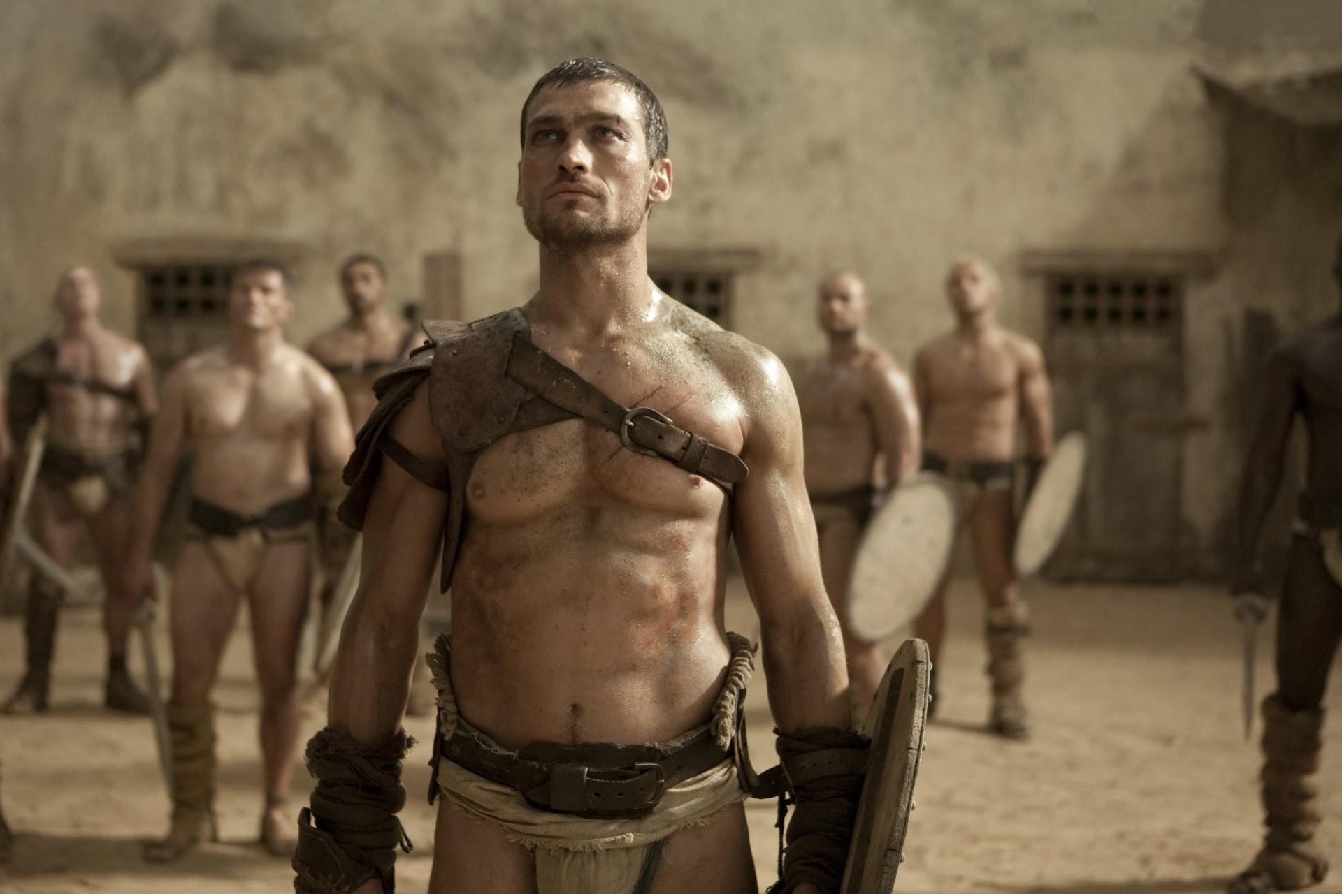 spartacus series spartacus sand and blood gladiator warrior