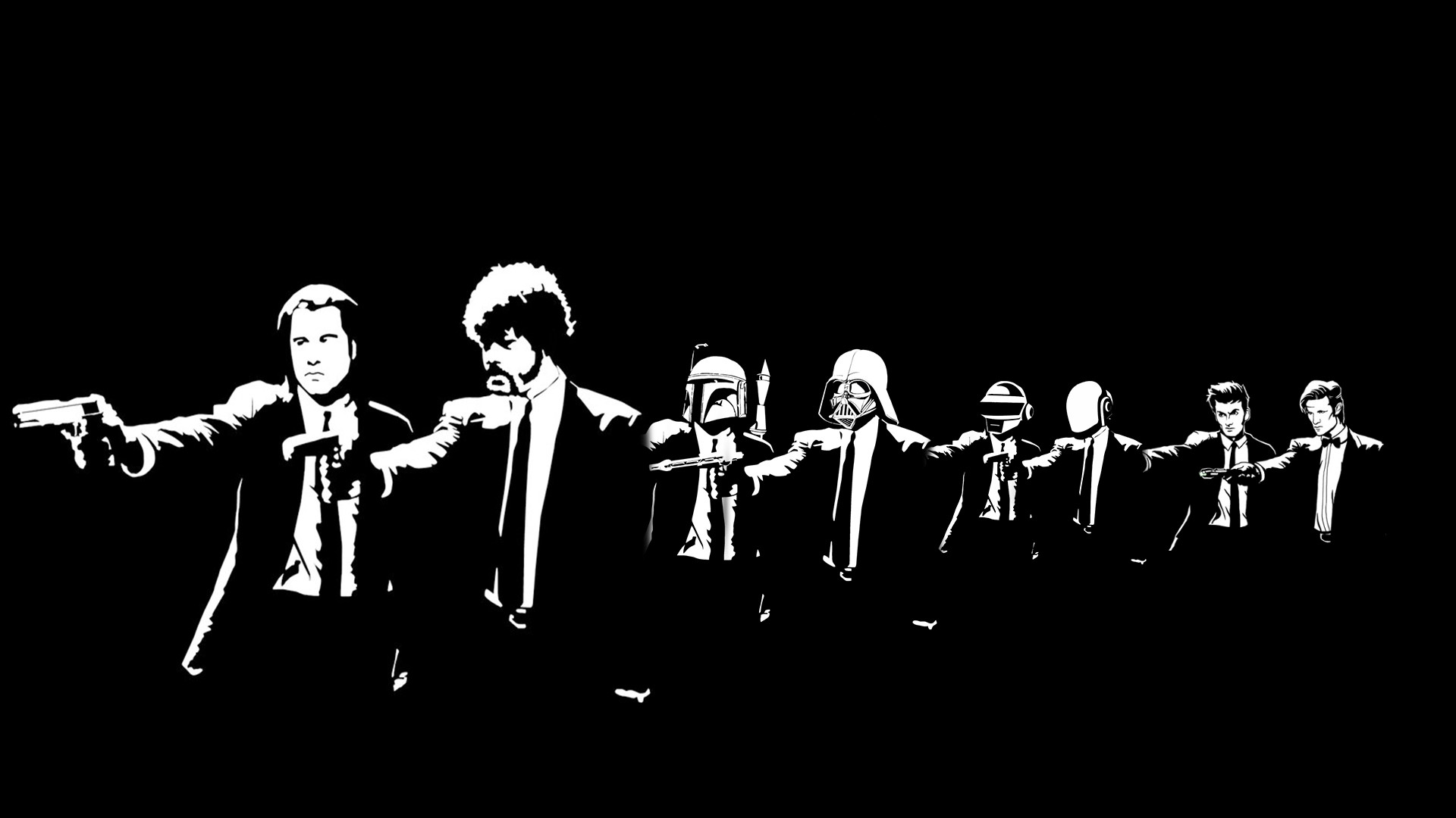 Can someone change this to only Darth Vader and Boba Fett?