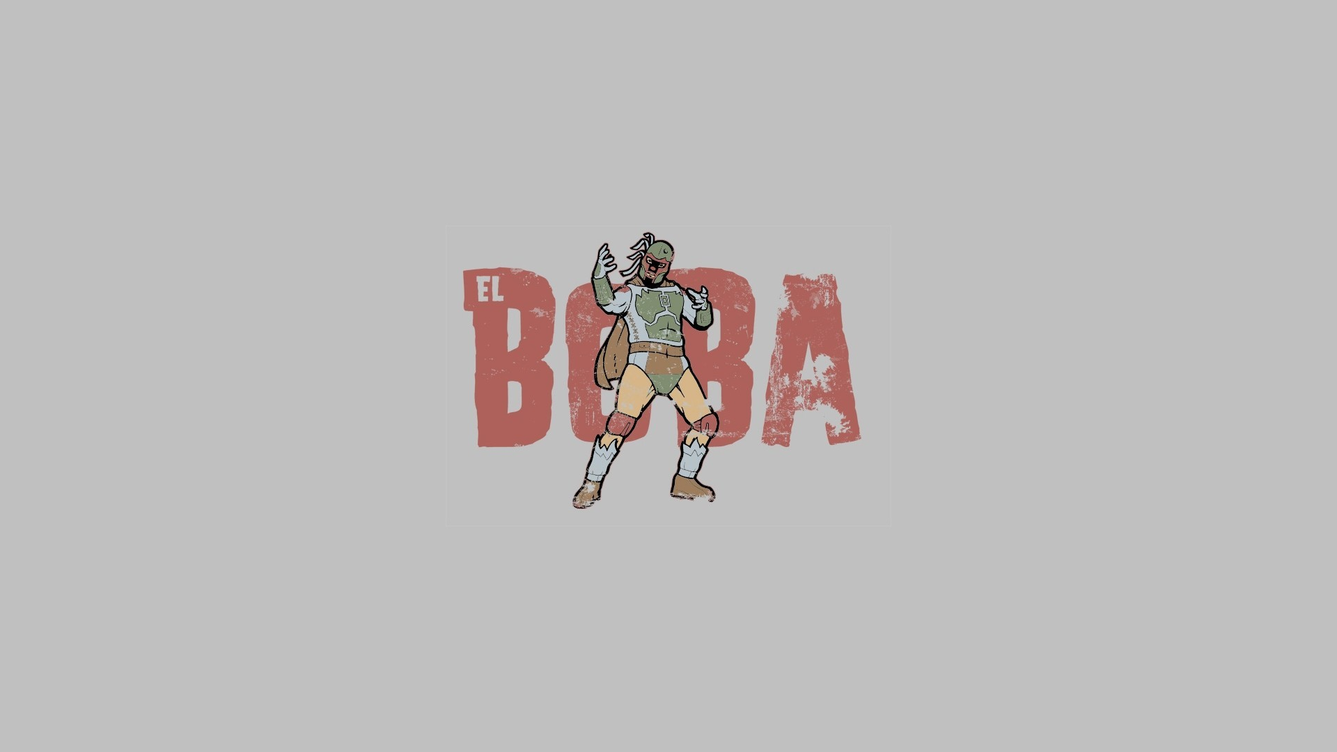 Cartoons abstract Star Wars Boba Fett solid simplistic simple wallpaper |  | 219728 | WallpaperUP