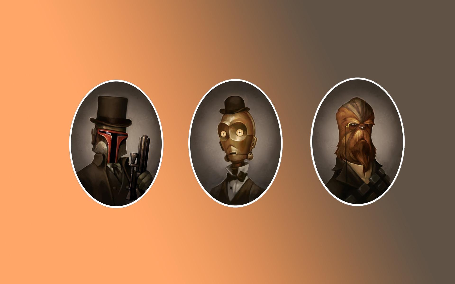 Steampunk Star Wars Boba Fett C-3PO Chewbacca wallpaper | | 62481  | WallpaperUP