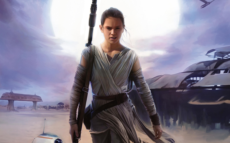 Rey Star Wars The Force Awakens