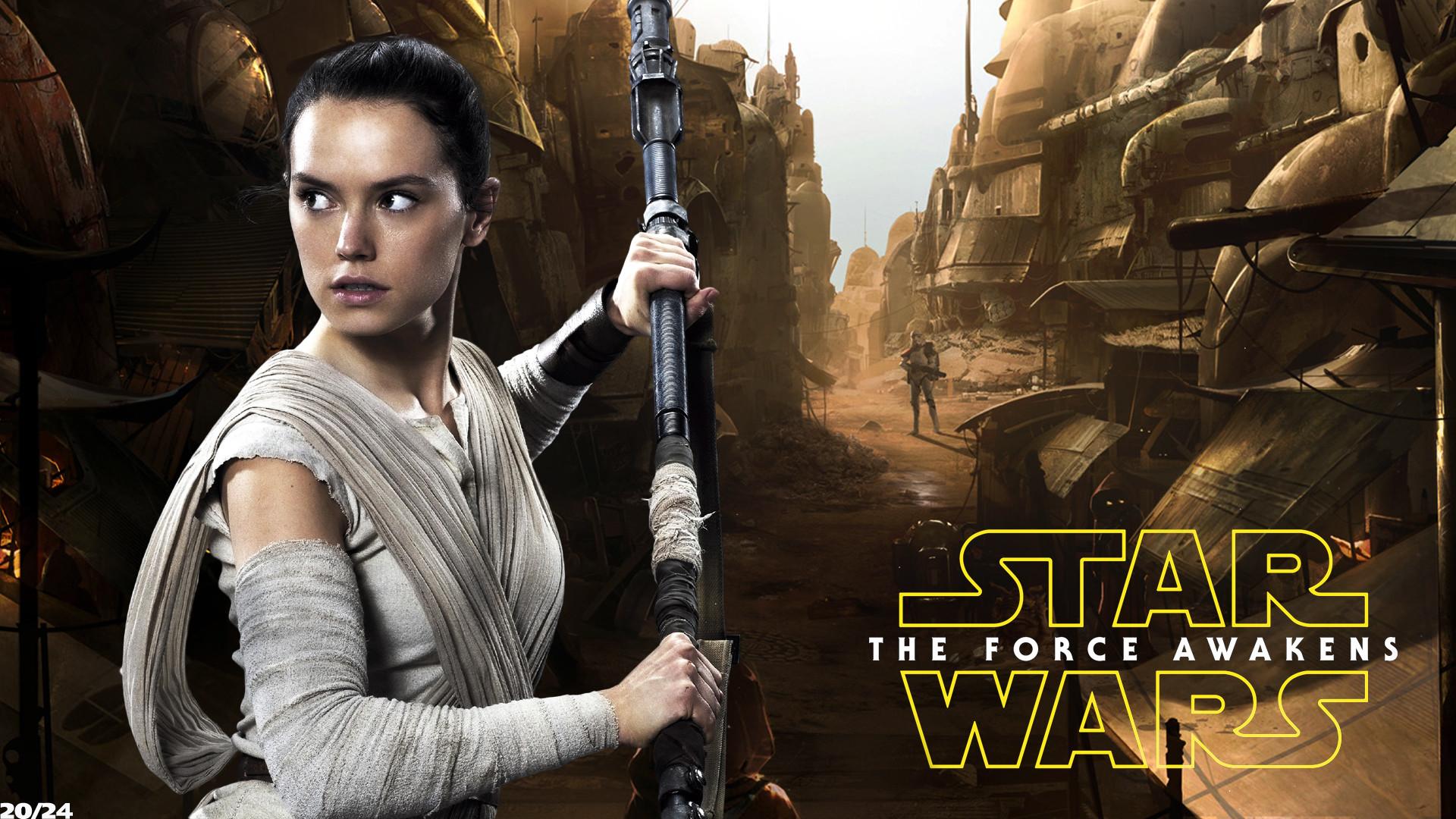 Daisy Ridley Rey- Star Wars001 by FunkyCop999 on DeviantArt