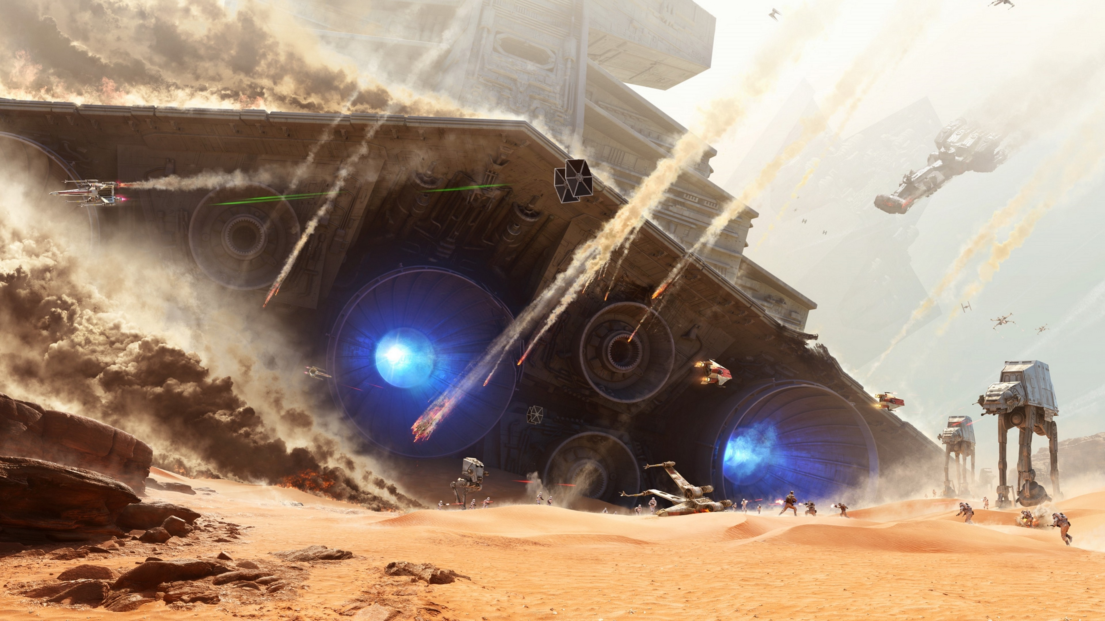 #soldier, #Star Wars, #Star Wars: Battlefront, #EA DICE, # … tie fighter wallpaper  5760×1080 …