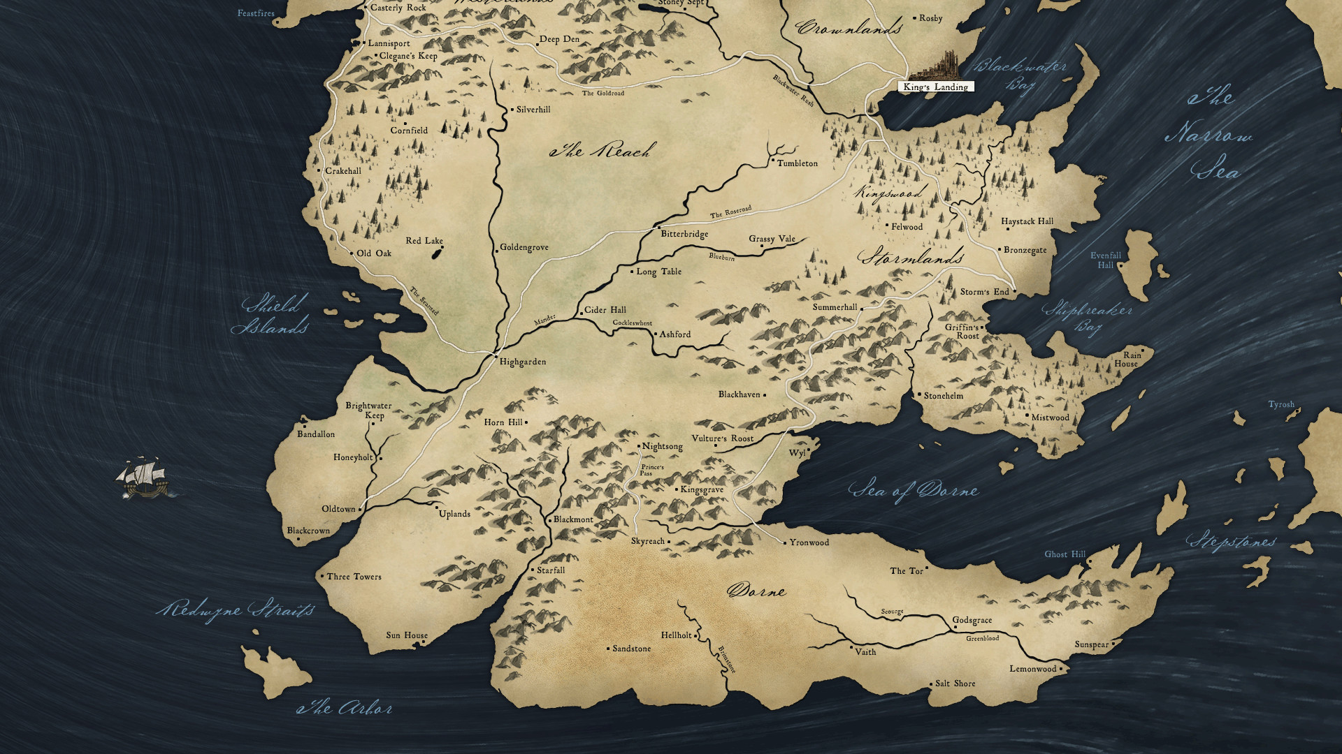 Game of Thrones (NO BOOK SPOILERS) – Season 1 – Sundays on HBO .
