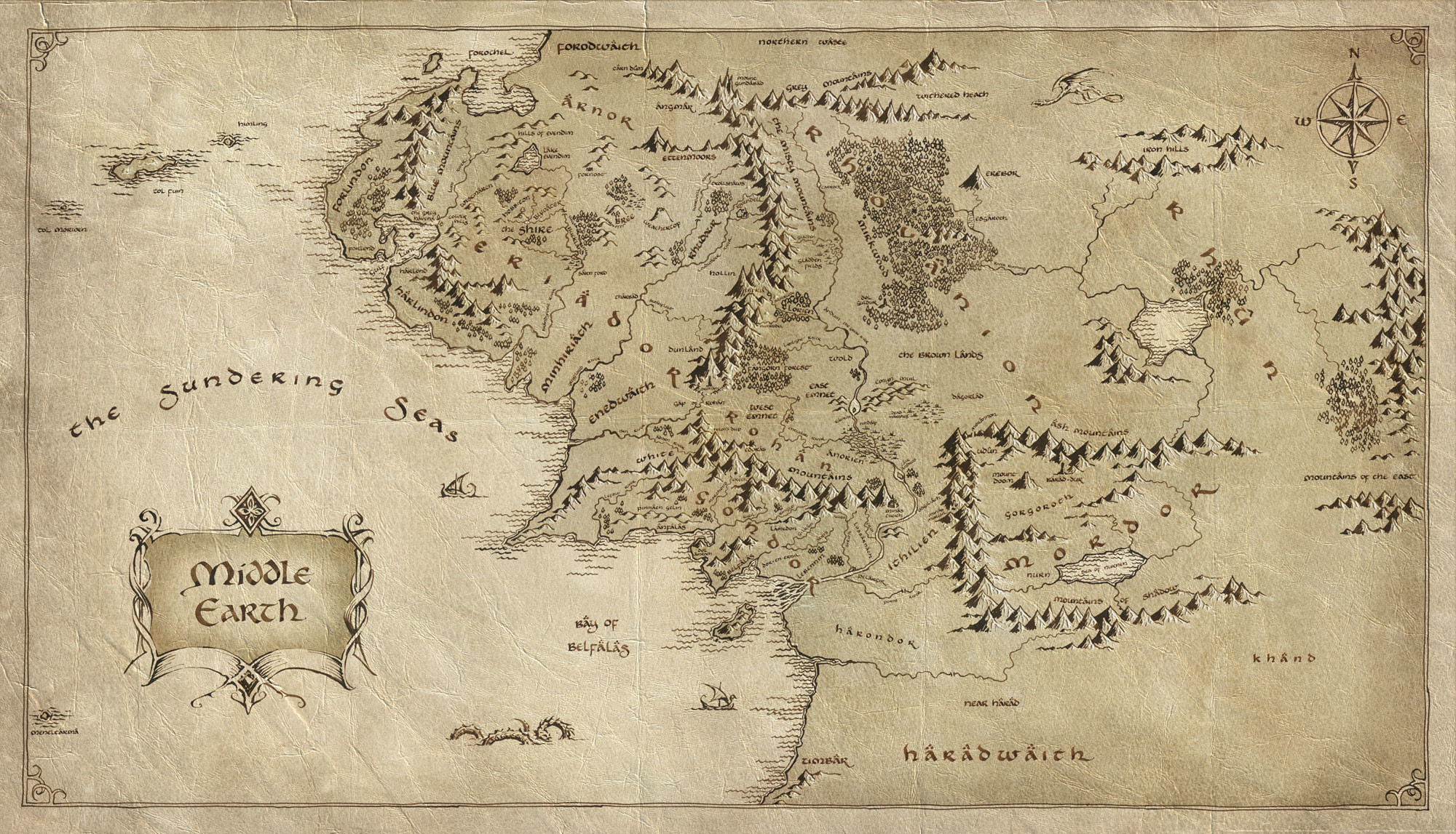 … Tolkien-esque style.