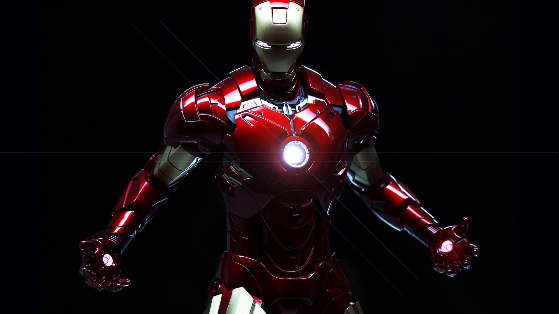 Iron Man, black, fantasy, iron man, marvel comics, movie