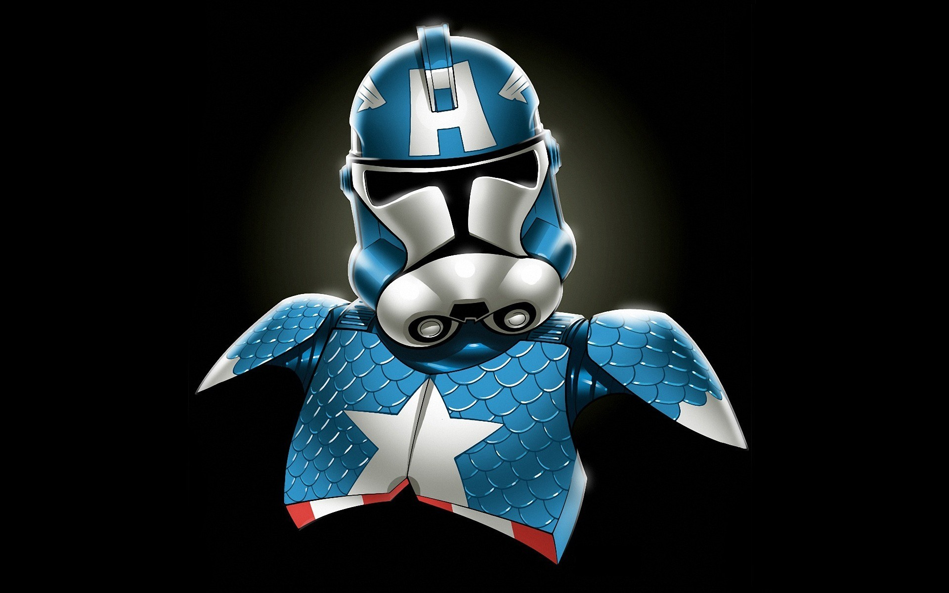 Star Wars Minimalistic Stormtroopers Captain America Marvel Comics Redneck  Wallpaper At 3d Wallpapers
