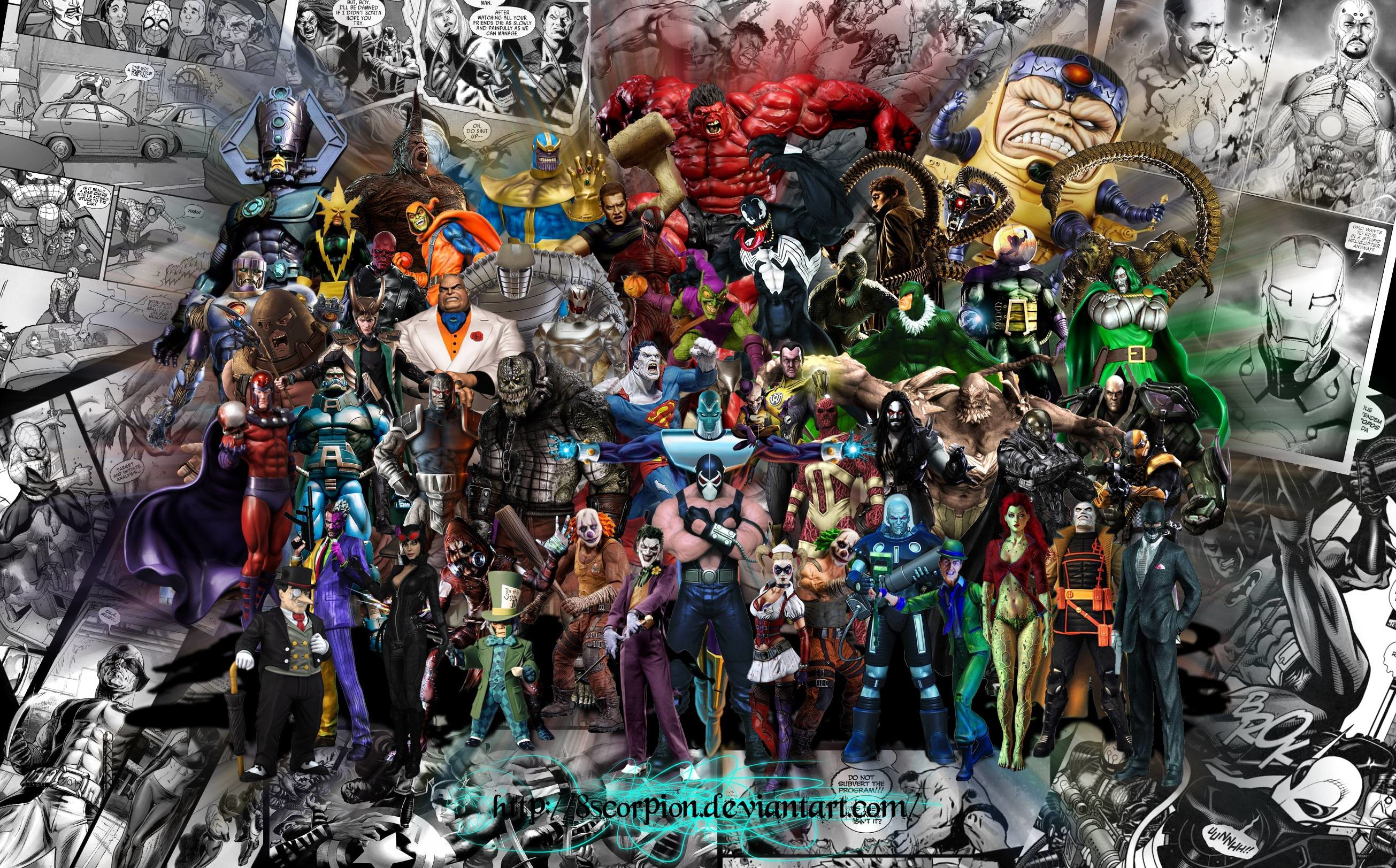 dc and marvel villains by 8scorpion on DeviantArt