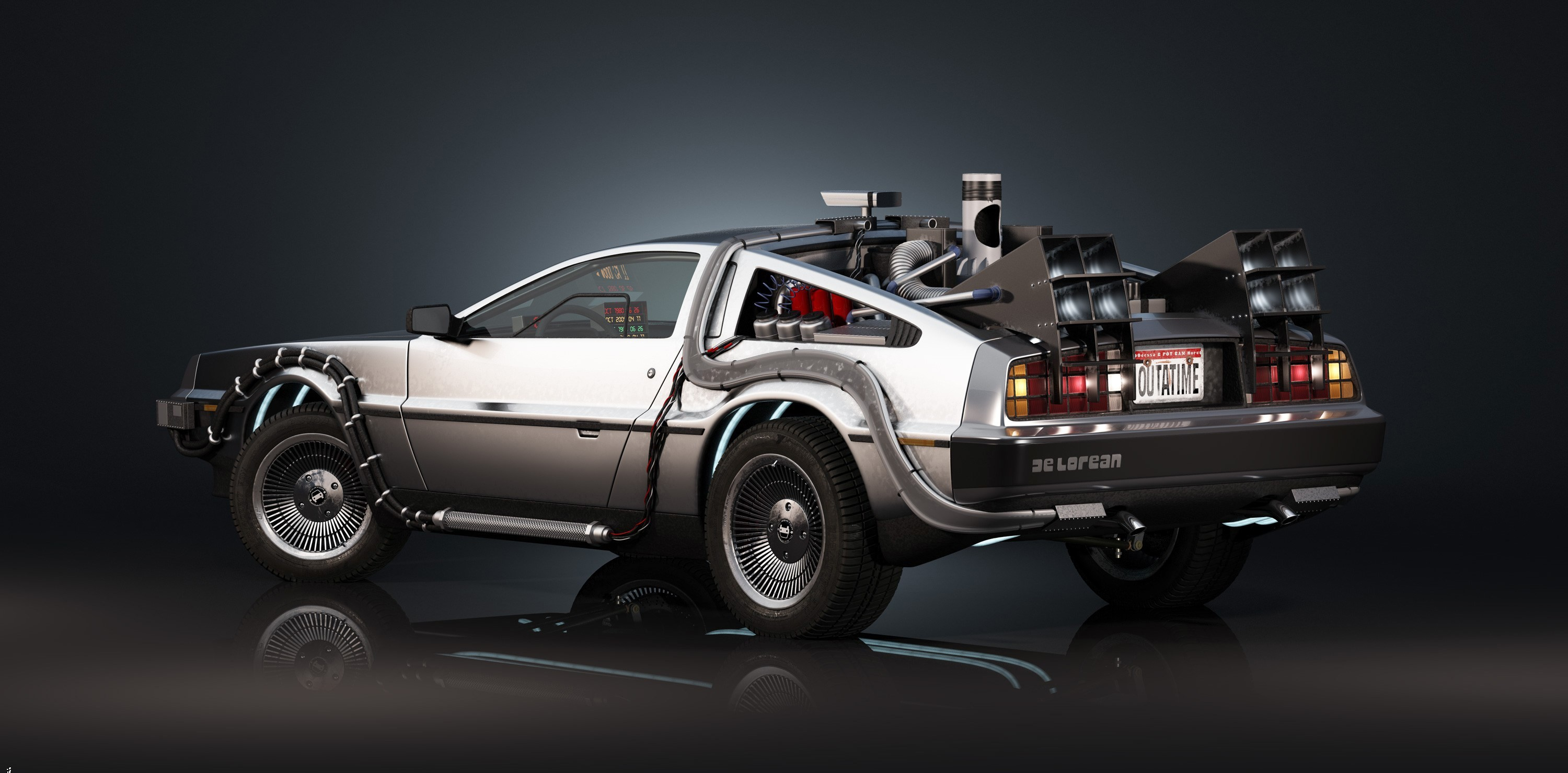 free wallpaper and screensavers for back to the future