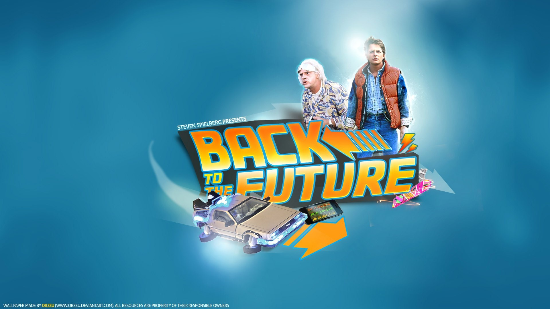 back to the future computer wallpaper backgrounds – back to the future  category