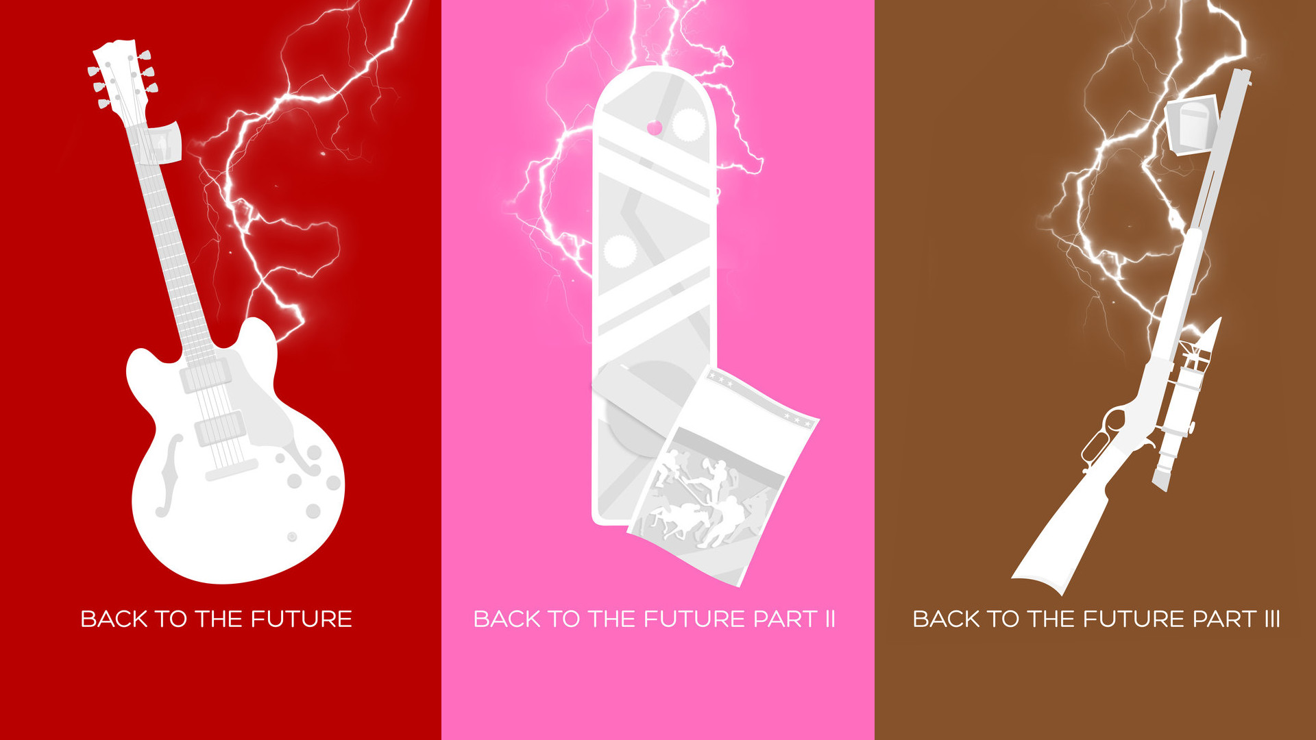 Back to the future by the same guy who did the Three Flavours .