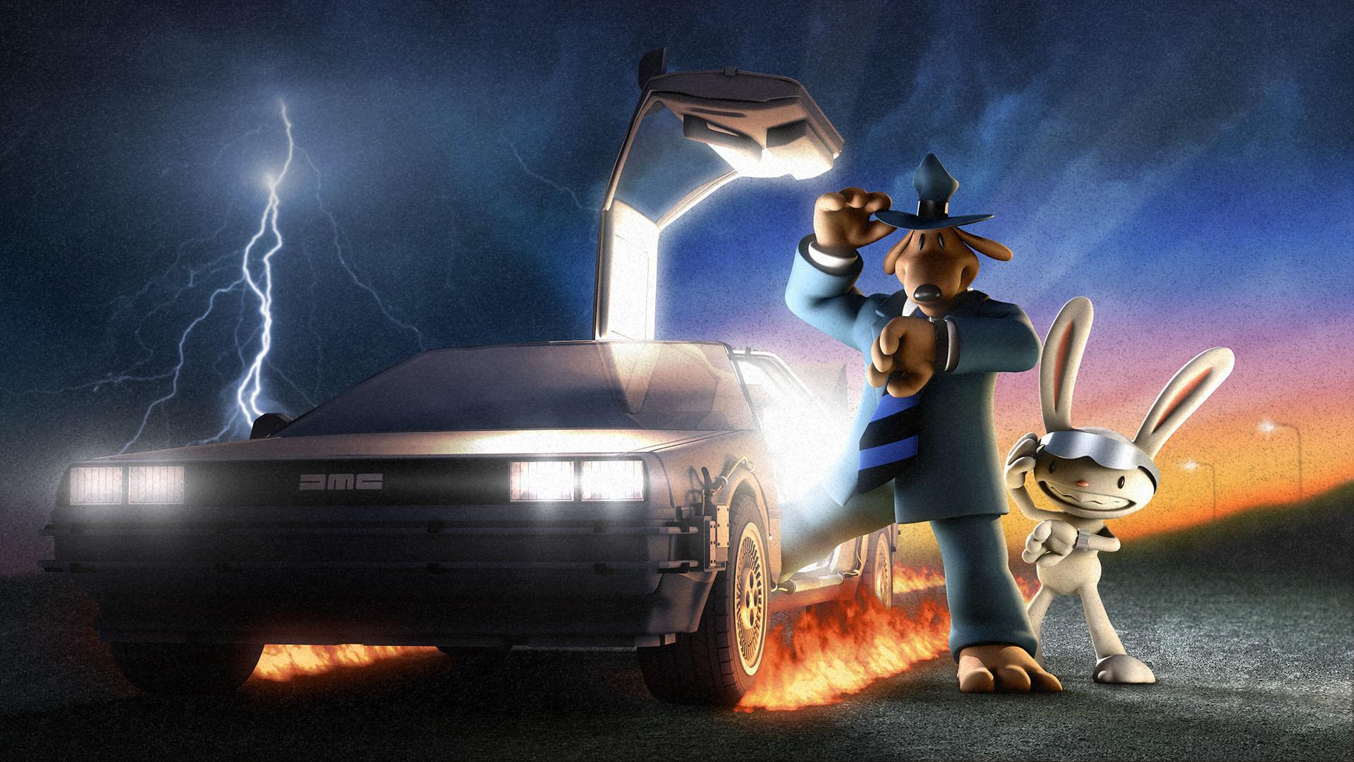 Video games Back to the Future Sam And Max DeLorean DMC-12 wallpaper |  | 60232 | WallpaperUP