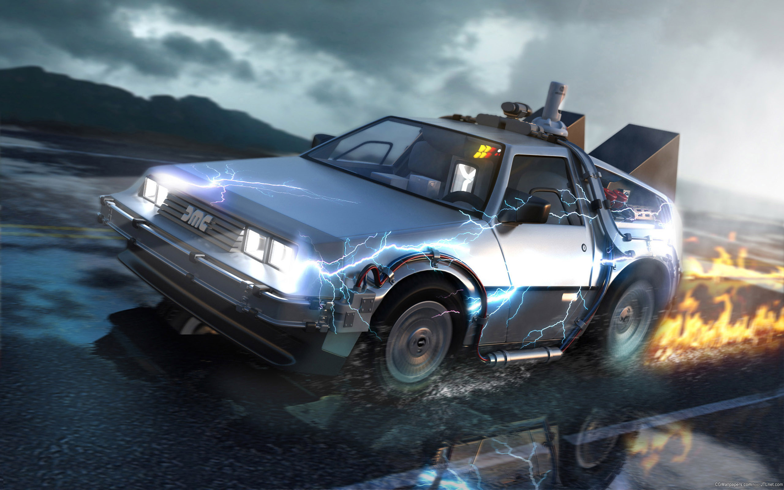 … Back to the Future HD Wallpaper 2560×1600