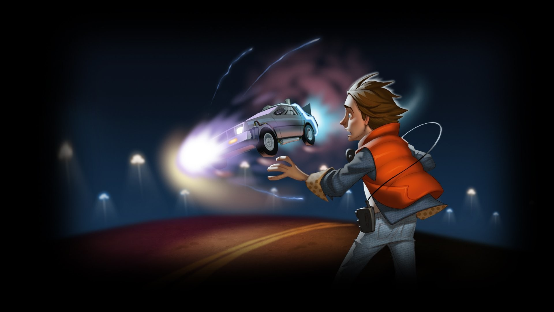 … back to the future game walldevil …