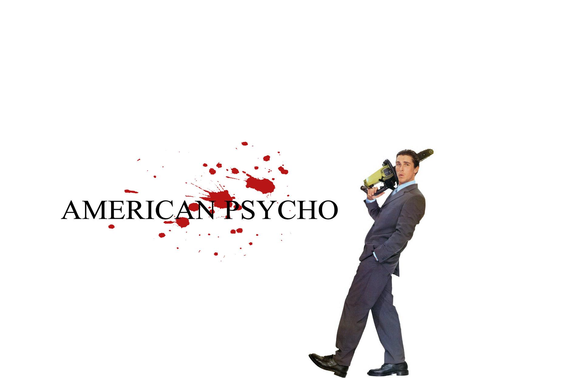 american psycho christian bale patrick bateman HD Wallpaper of .