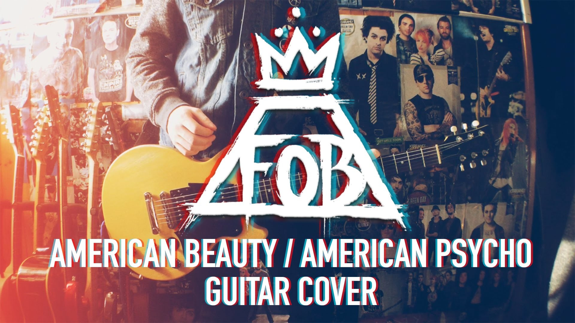 Fall Out Boy – American Beauty / American Psycho – Guitar Cover – YouTube