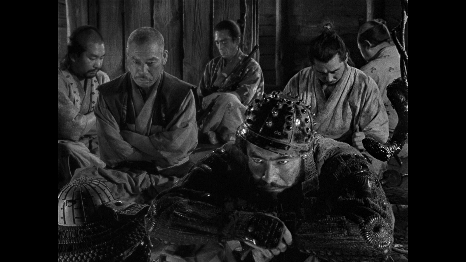 (Akira Kurosawa, 1954) · Kurosawa's classic story of seven ronin who band  together to protect a small farm community was the first of his samurai  films.
