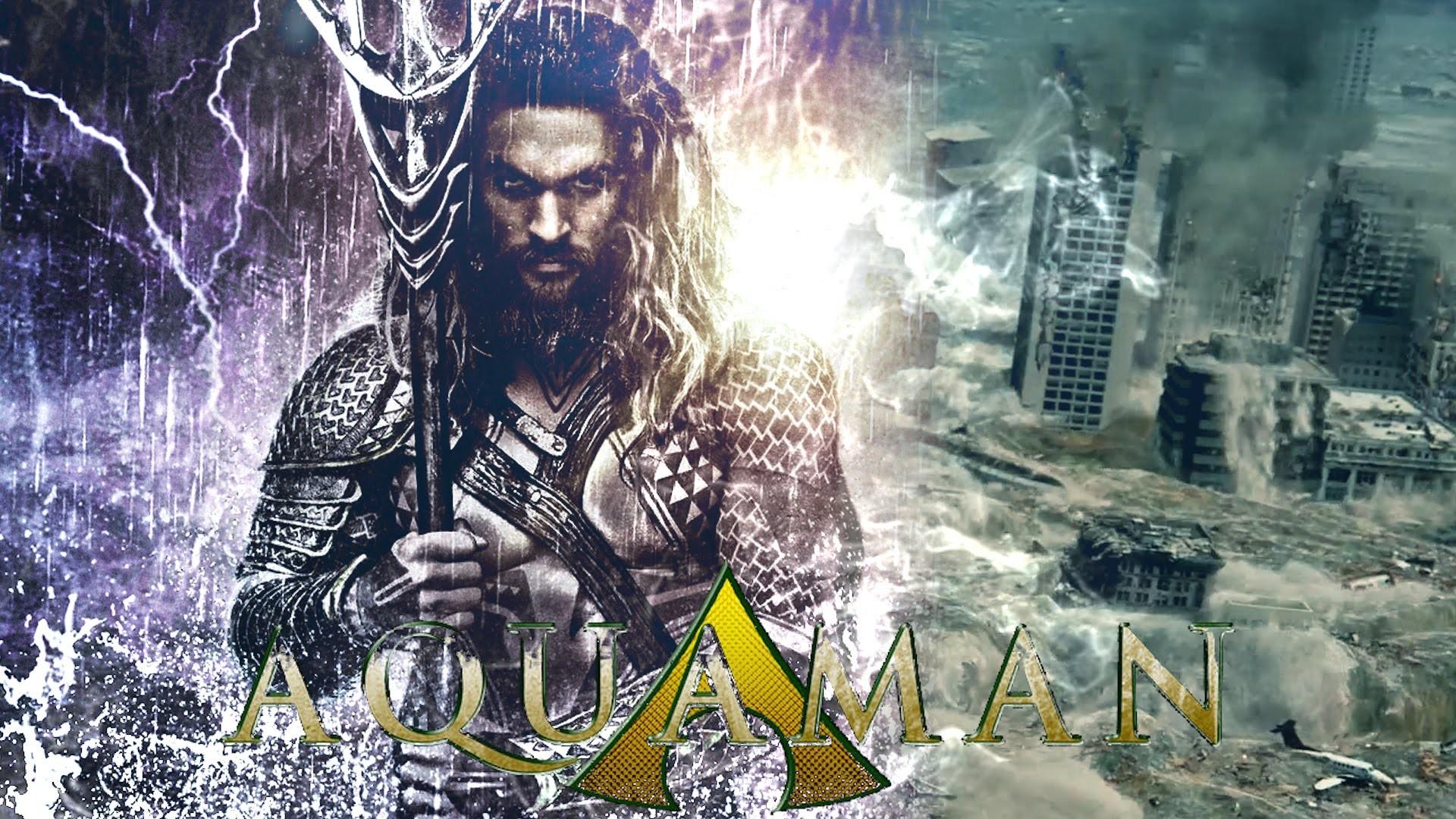 AQUAMAN Movie Trailer: King of Atlantis – Jason Momoa (FanMade)
