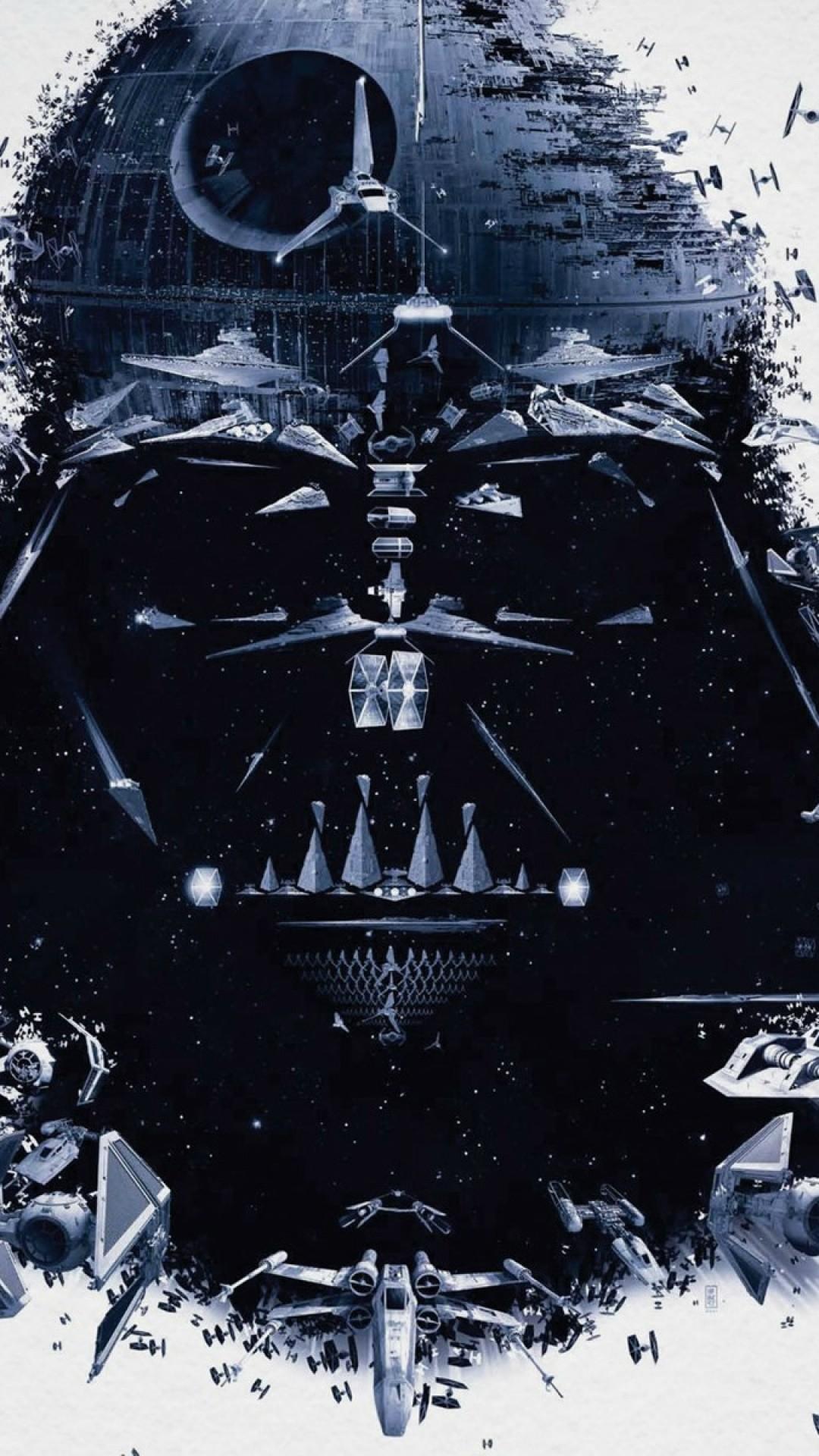 Star Wars Darth Vader Spaceships iPhone 6 Plus HD Wallpaper Download .