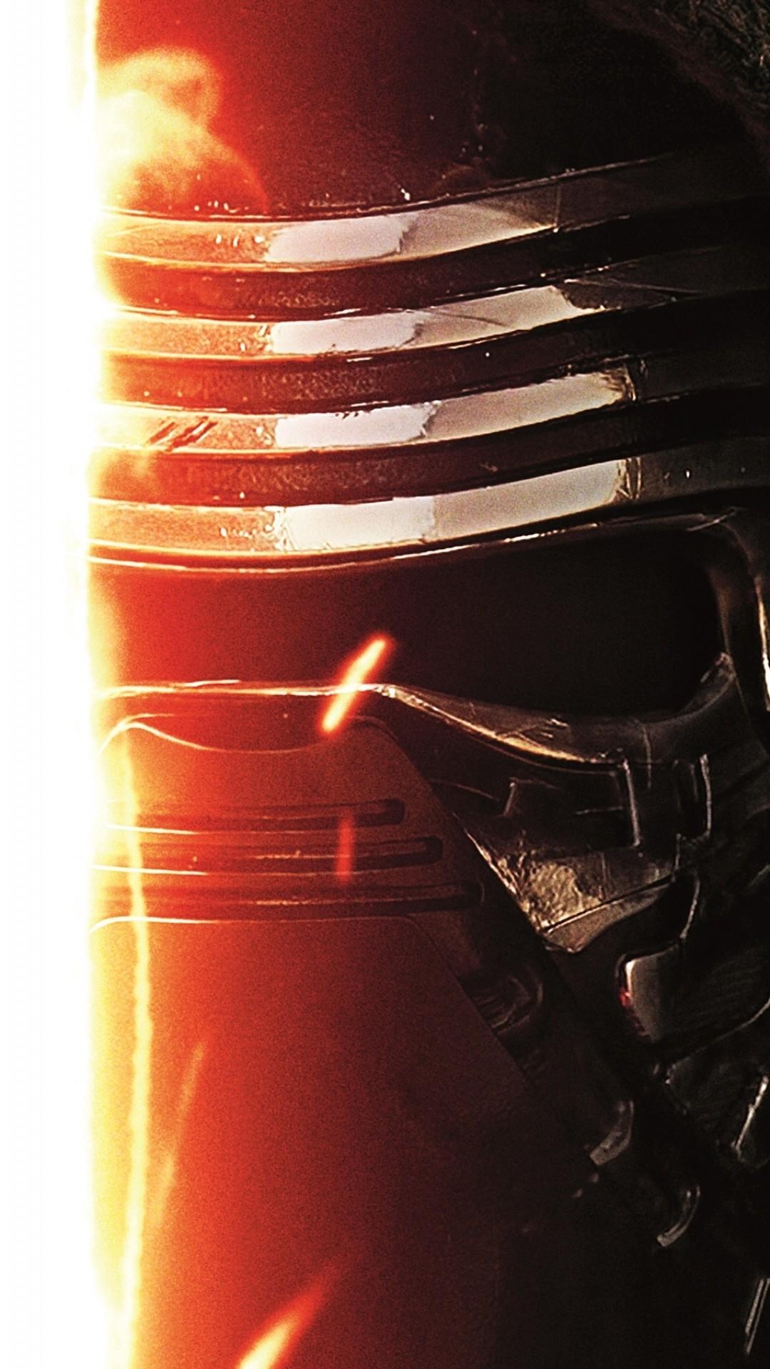 Star Wars The Force Awakens Wallpaper Kylo Ren Lightsaber