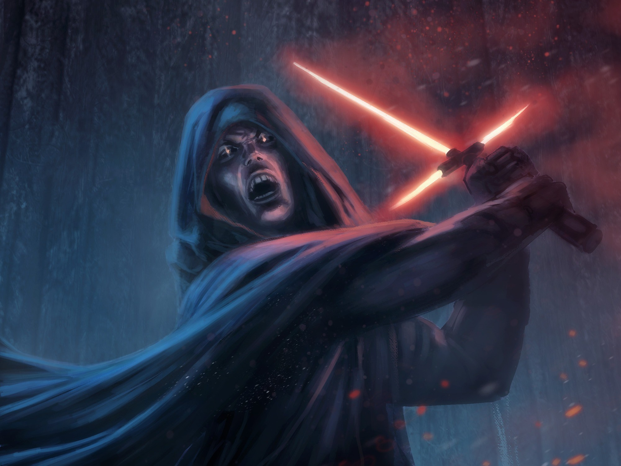Wallpaper star wars episode vii – the force awakens, sith,  lightsaber