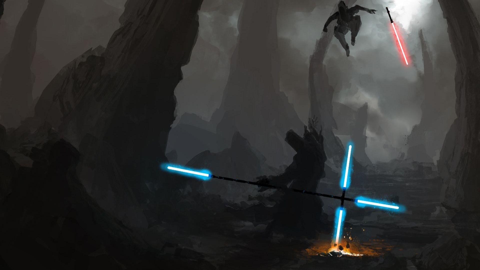 star-wars-lightsaber-battle-artistic-hd-wallpaper-1920×1080-2313.jpg  (1920×1080) | #STAR WARS | Pinterest | Character concept