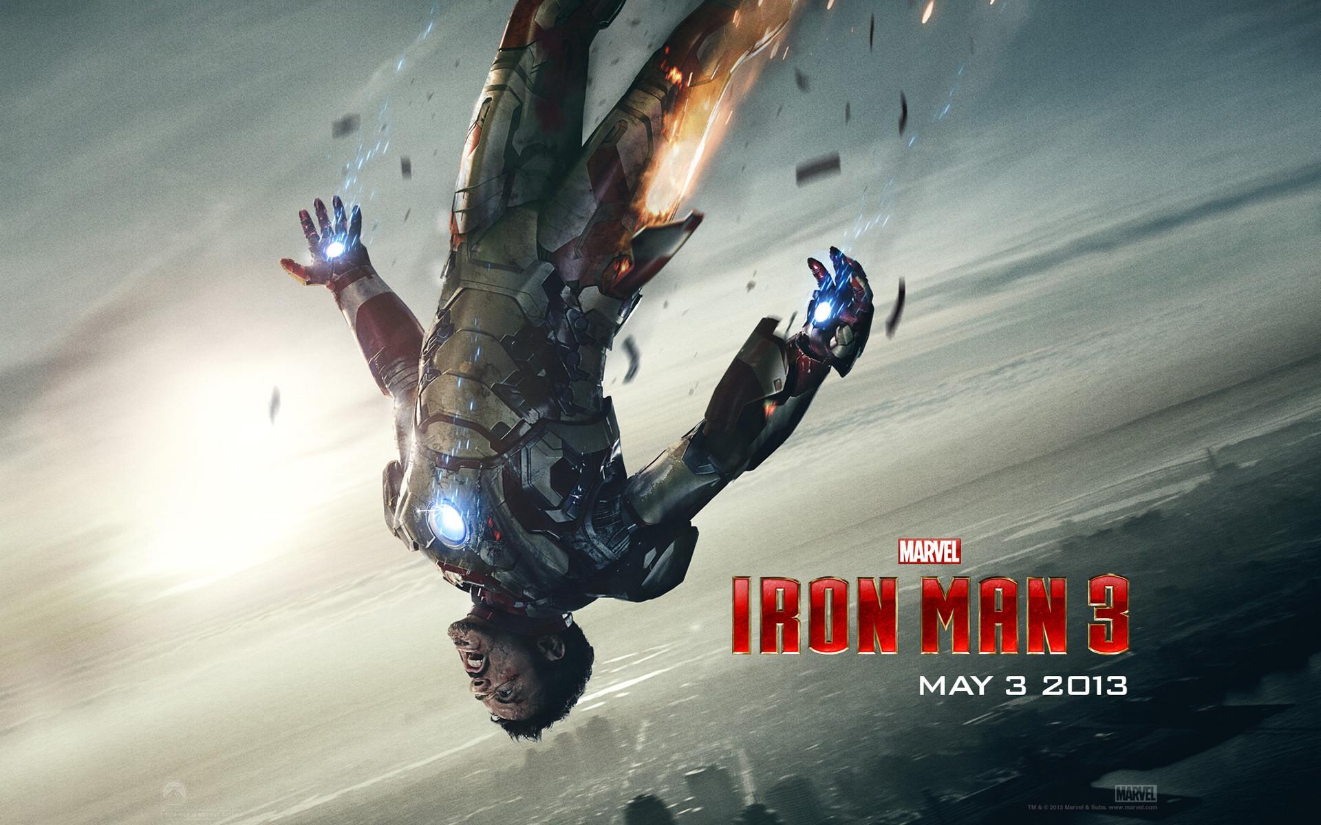 Tony Stark in Iron Man 3
