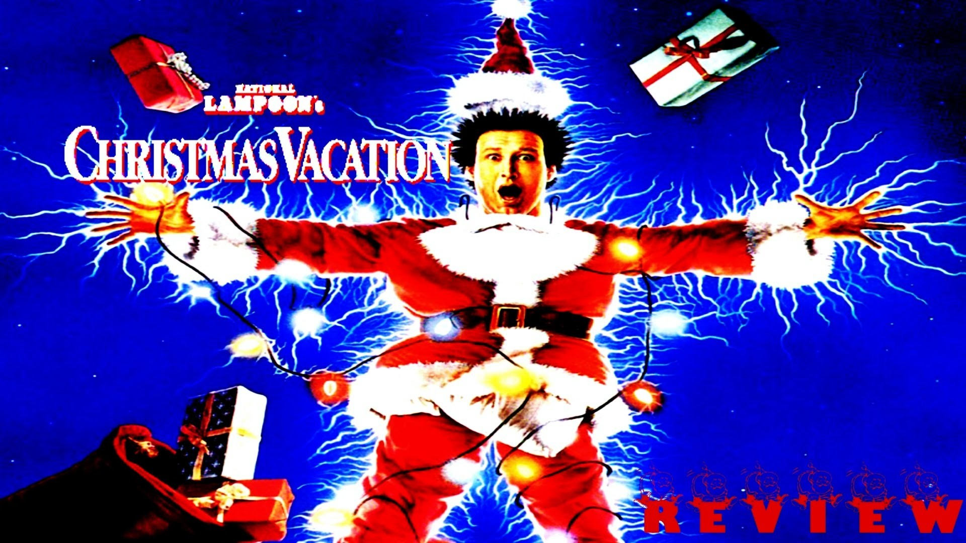 National Lampoon's Christmas Vacation (1989) MOVIE REVIEW!!!