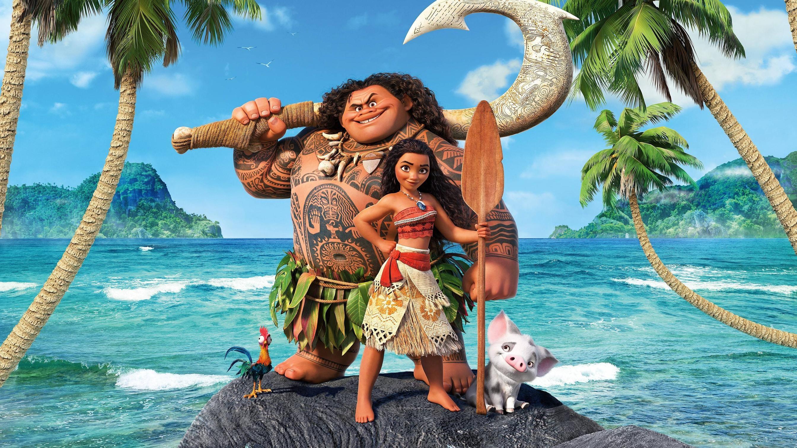 Moana 2016 Disney Movie 4k