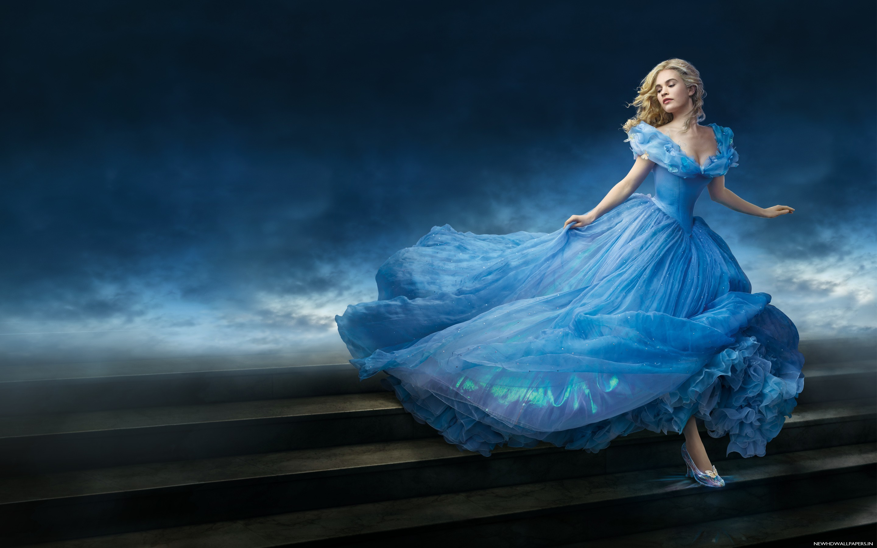 Lily James as Cinderella Movie Wallpaper – New HD Wallpapers