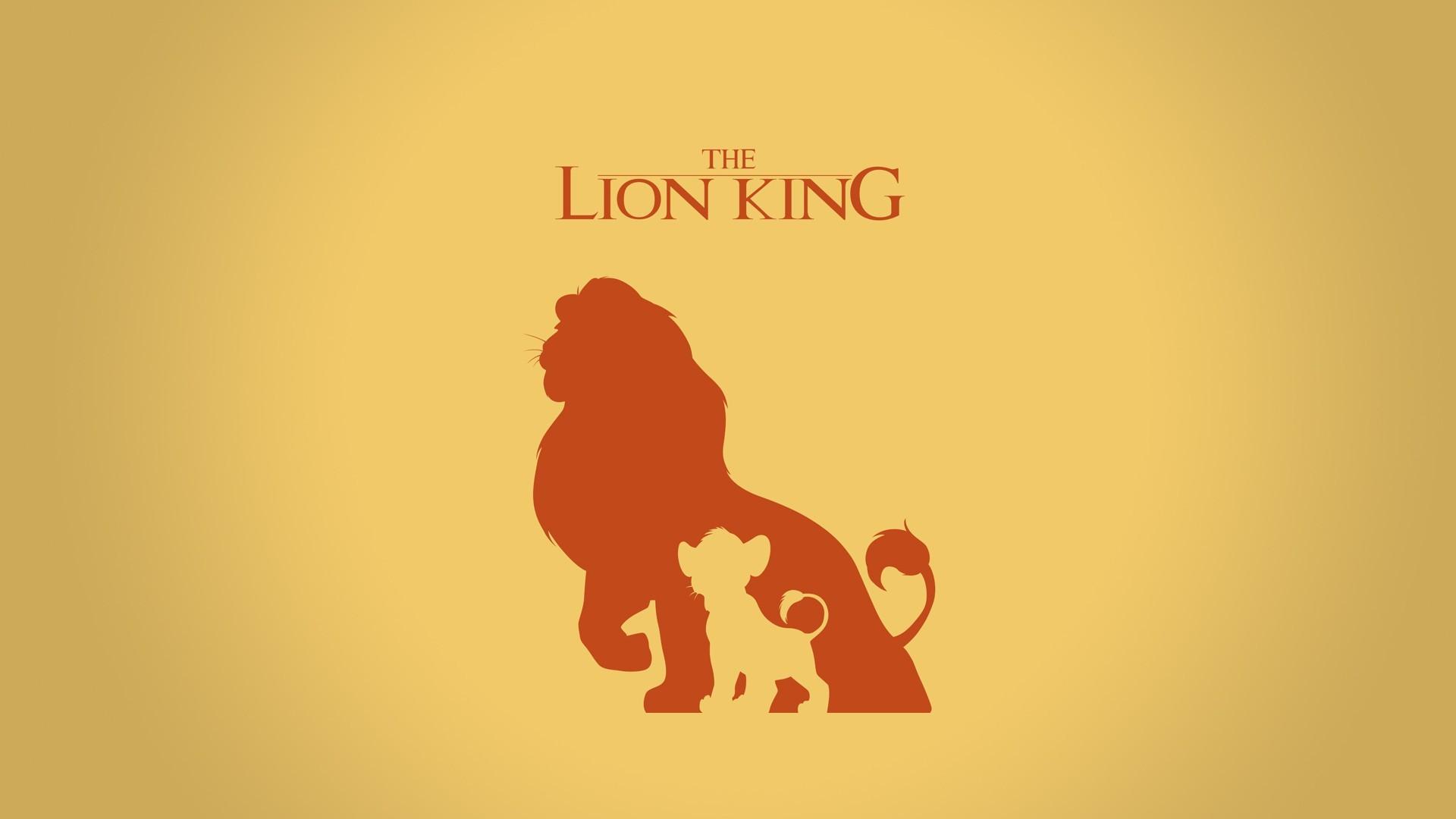 The Lion King Silhouette Disney HD Wallpaper