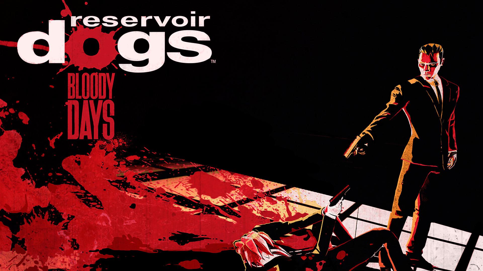 Reservoir Dogs Bloody Days Title Art