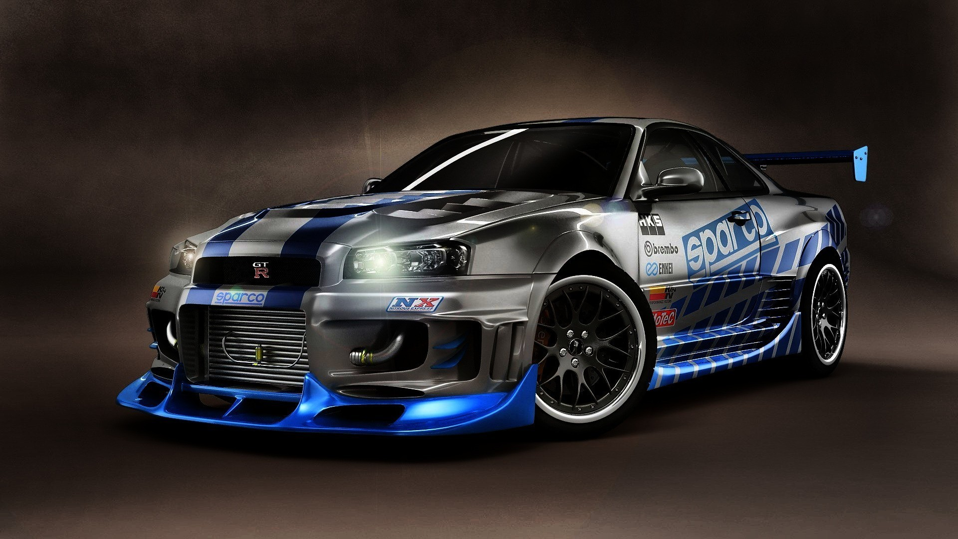 Nissan Skyline GT-R from Fast 2 Furious!