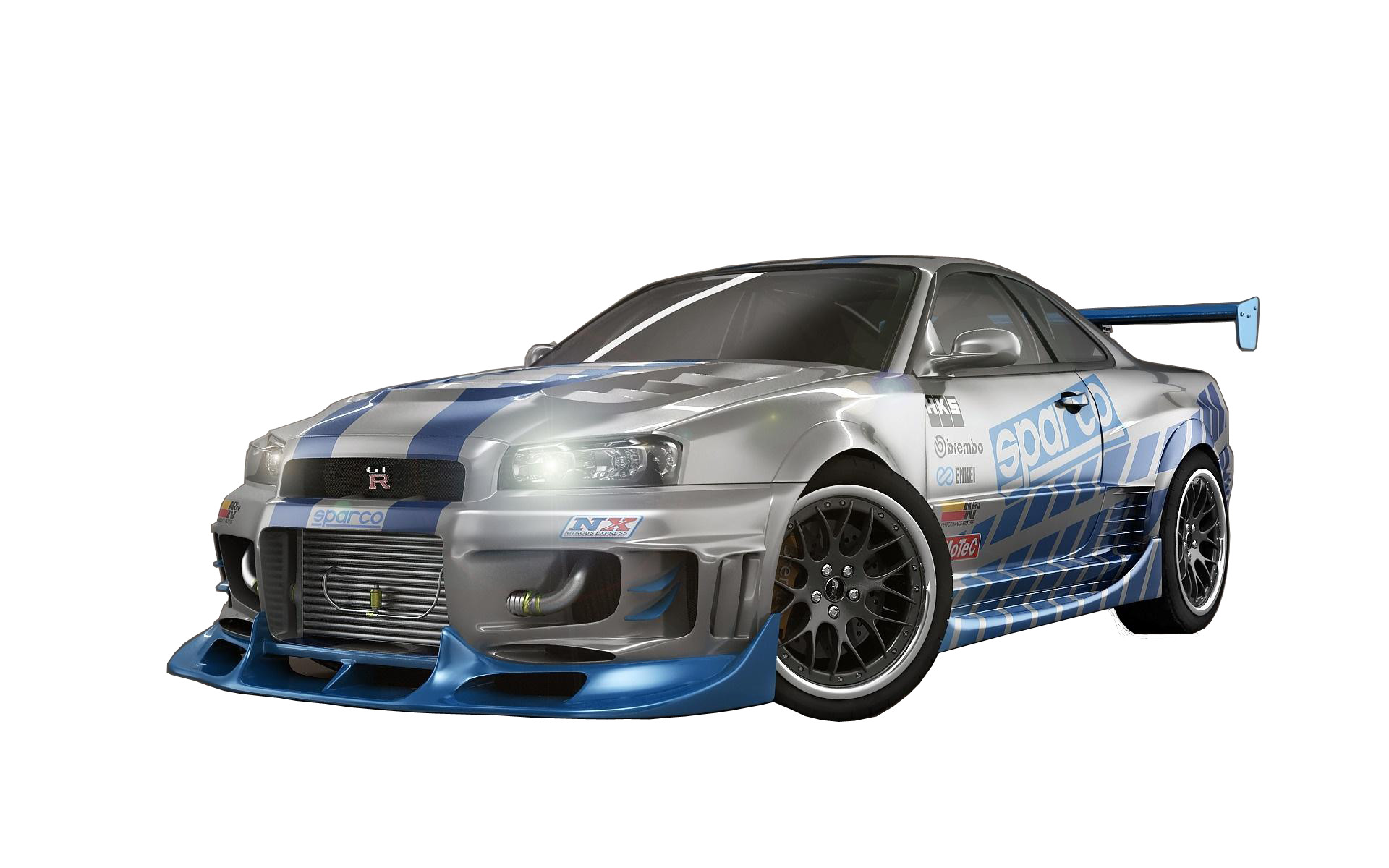Nissan Skyline Fast and Furious 7 Sport Car Wallpaper