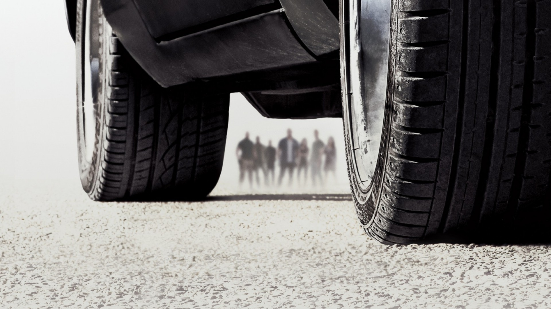 Preview wallpaper fast and furious, furious 7, car, tire 1920×1080