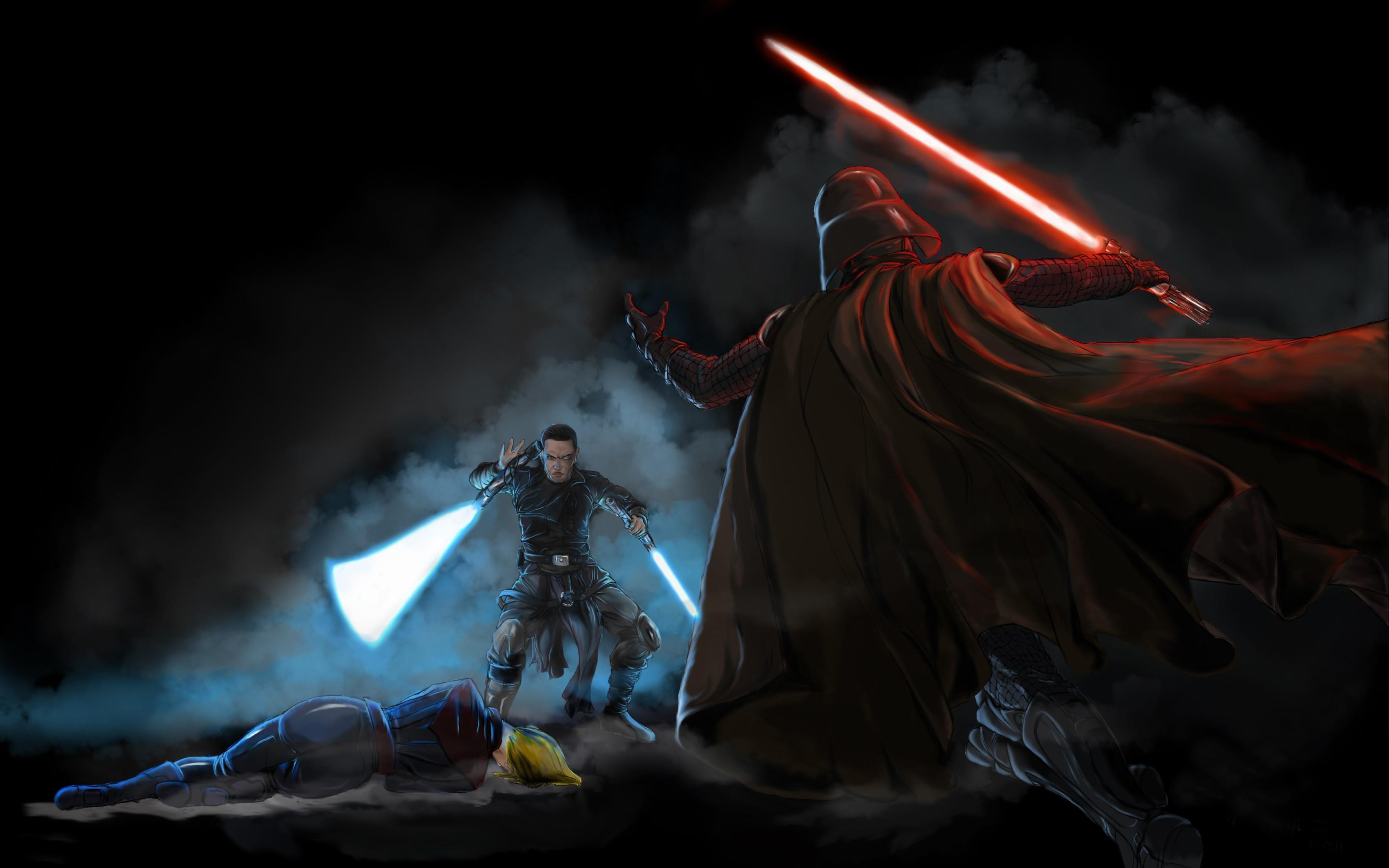Star Wars, Artwork, Darth Vader Wallpapers HD / Desktop and Mobile  Backgrounds
