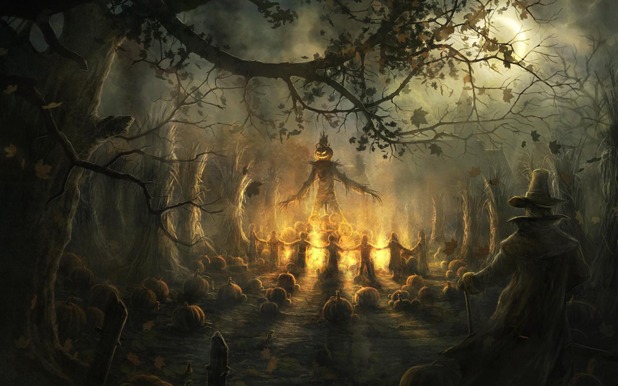 Horror Halloween Wallpaper For IPhone Wallpaper | WallpaperLepi