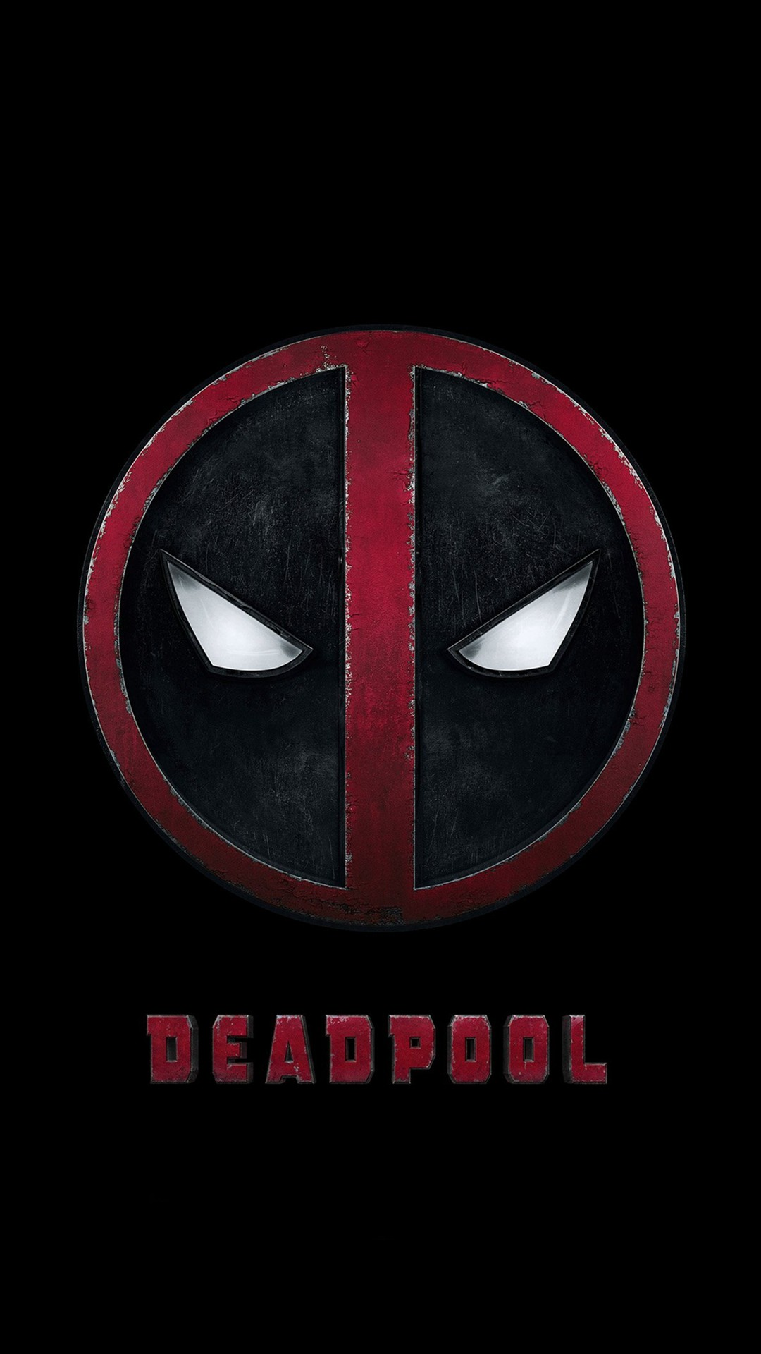Deadpool Logo Dark Art Hero #iPhone #7 #wallpaper