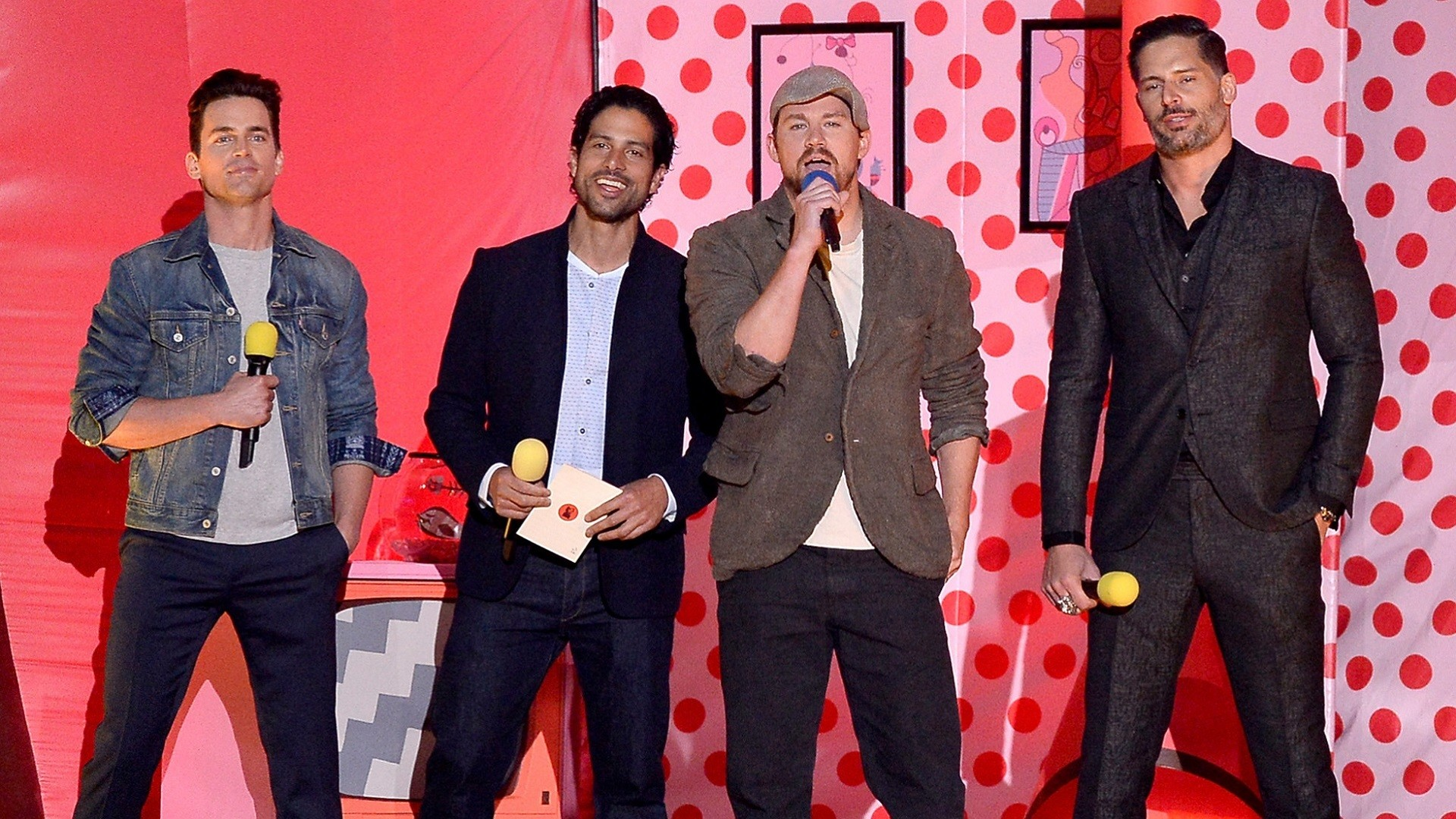 Was anyone offended by what Channing Tatum said at the MTV Movie Awards?